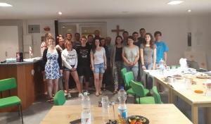 Am vergangenen Dienstag hatten wir Besuch aus Georgien - zwei Frauen aus einem georgischen christlichen Studentenverein!