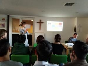 Am 15., 16. und 20. März fand das erste mal in den Semesterferien ein von der SMD organisierter Deutschunterricht statt, der jeweils circa vier Stunden dauerte.